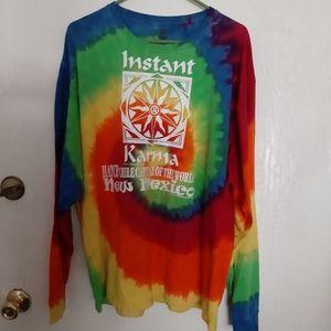 Tie dye longsleeve shirt New Mexico Size XL
